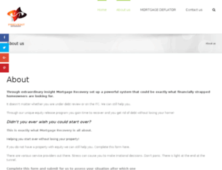 mortgagerecovery.co.za screenshot