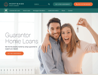mortgageshomeloan.com.au screenshot