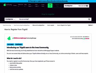 mortgagesupport.iress.co.uk screenshot