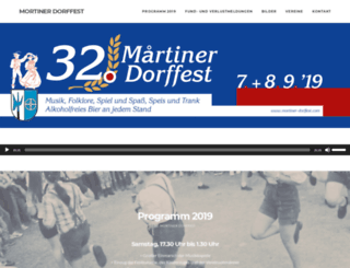 mortiner-dorffest.com screenshot
