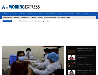 morungexpress.com screenshot