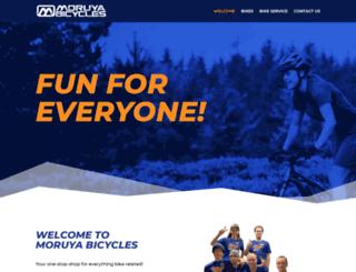 moruyabicycles.com.au screenshot