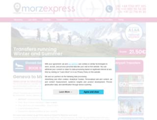 morzexpress.com screenshot