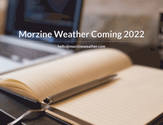 morzineweather.com screenshot