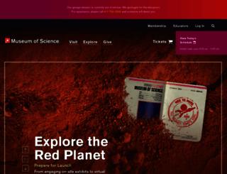 mos.org screenshot