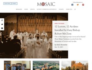 mosaic.shms.edu screenshot
