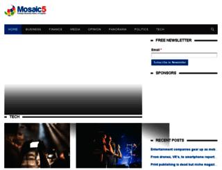 mosaic5.com screenshot