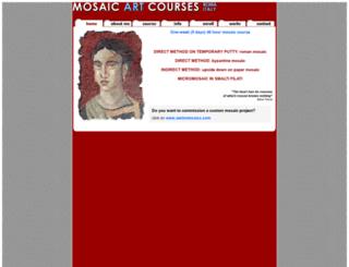 mosaicartcourses.com screenshot