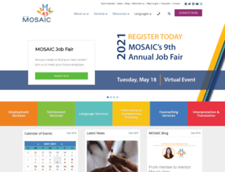 mosaicbc.com screenshot