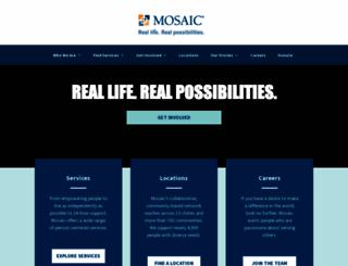 mosaicinfo.org screenshot