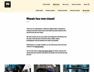 mosaicscience.com screenshot