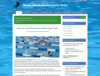 mosbywoods.swimtopia.com screenshot