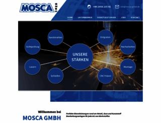 mosca-gmbh.de screenshot