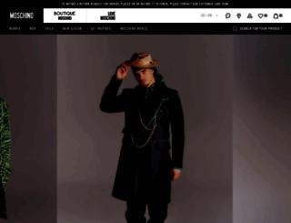 moschinoboutique.com screenshot