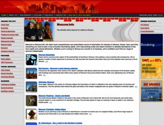 moscow.info screenshot
