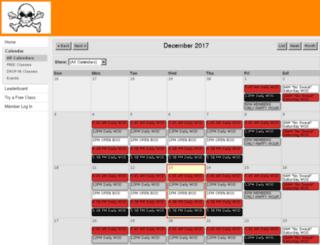 moscowcrossfit.zenplanner.com screenshot