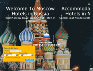 moscowhotelsinmoscow.com screenshot