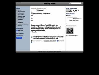 moscropmusic.blogspot.com screenshot