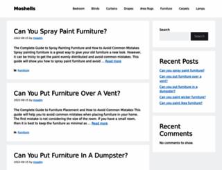 moshells.com screenshot