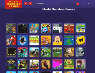moshimonstergames.co.uk screenshot