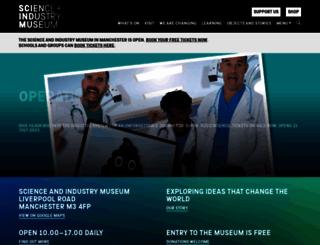 mosi.org.uk screenshot