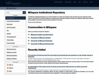mospace.umsystem.edu screenshot