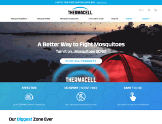 mosquitorepellent.com screenshot