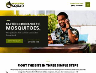 mosquitosquad.com screenshot
