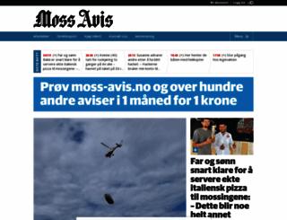 moss-avis.no screenshot