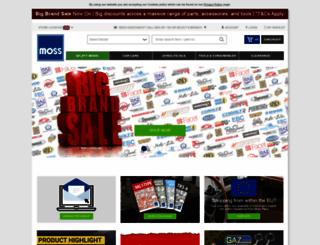 moss-europe.co.uk screenshot