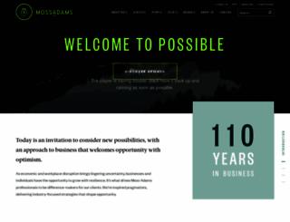 mossadams.com screenshot