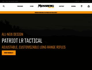 mossberg.com screenshot
