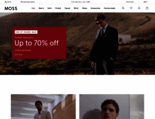 mossbros.com screenshot
