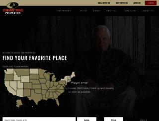 mossyoakproperties.com screenshot
