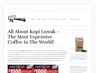most-expensive.coffee screenshot