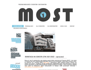 most.amu.edu.pl screenshot