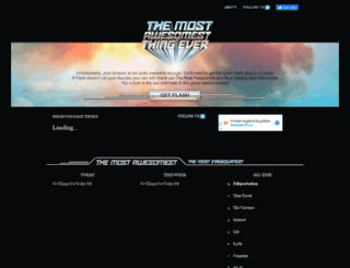 mostawesomestthingever.com screenshot