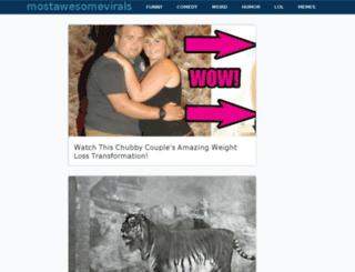 mostawesomevirals.com screenshot