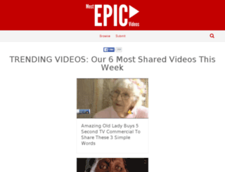 mostepicvideos.com screenshot