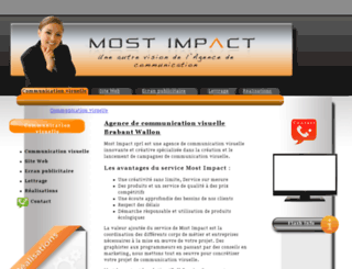 mostimpact.be screenshot