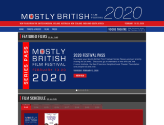 mostlybritish.org screenshot