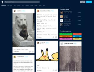 mostnoblesirc.tumblr.com screenshot