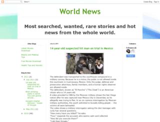 mostwantednews24.blogspot.com screenshot