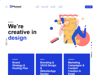 motasel.com screenshot