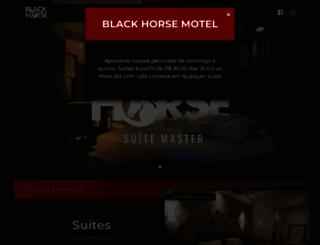 motelblackhorse.com.br screenshot