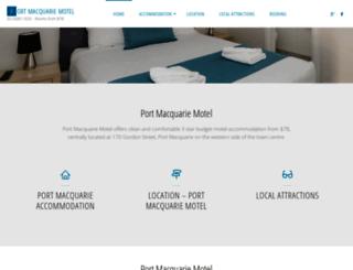 motelsportmacquarie.com.au screenshot