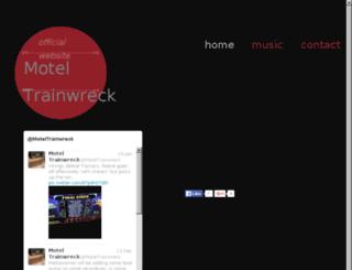 moteltrainwreck.com screenshot