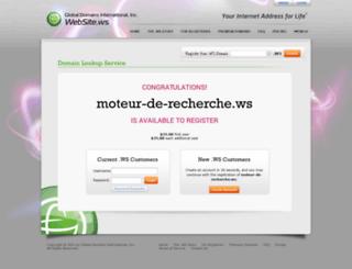 moteur-de-recherche.ws screenshot