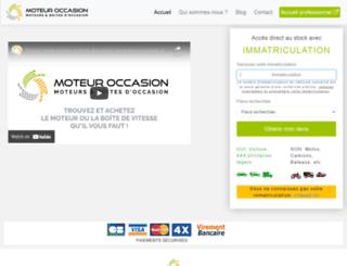 moteur-occasion.com screenshot