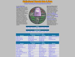 motherboards.mbarron.net screenshot